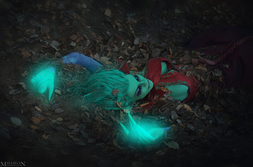 Milligan  Vick siêu quyến rũ với cosplay Death Prophet - Ảnh 6