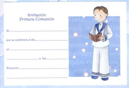 invitaciones de primera comunion en linea