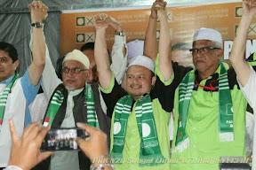 Ustaz Azman Calon PAS, ALLAHUAKHBAR!