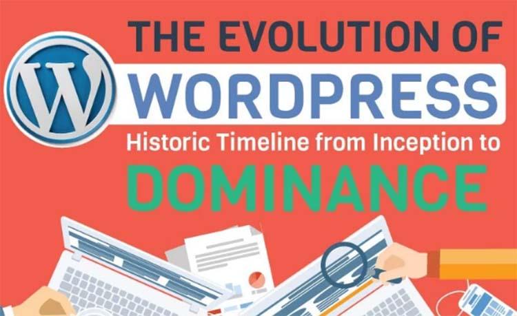 Fakta Menarik Tentang WordPress [Infographic]