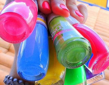 Esmaltes super coloridos para o verão