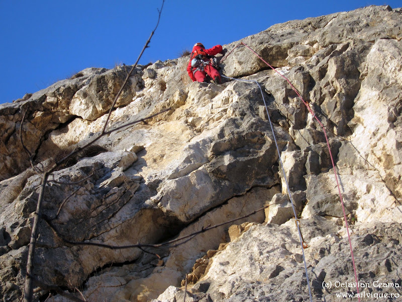 2014.03.08 - Cheile Turzii - Traseul Bulinel 6B, 10lc