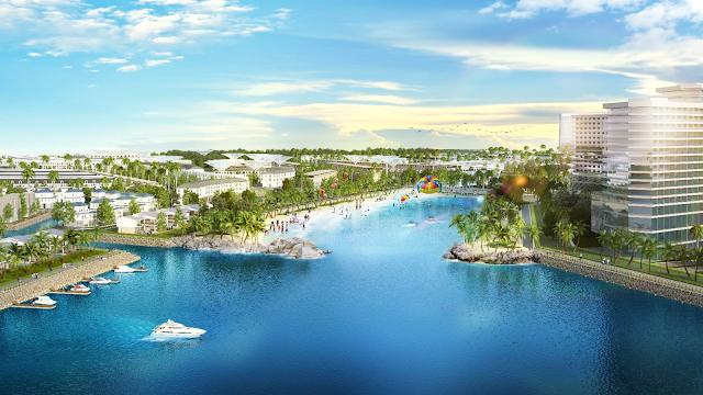 Tổng thể khu đô thị mới Thuận Phước