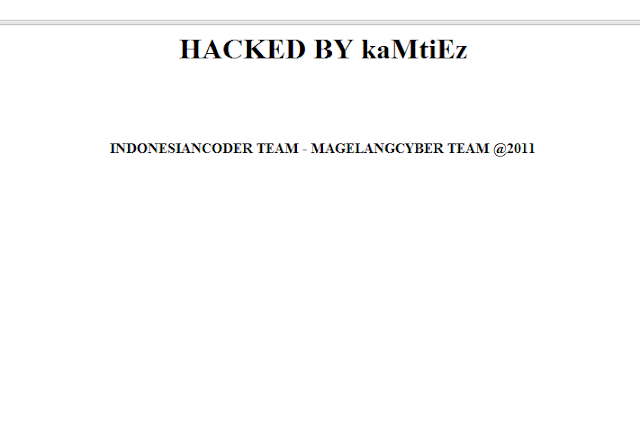 2 websites Hacked by kaMtiEz (INDONESIANCODER TEAM)