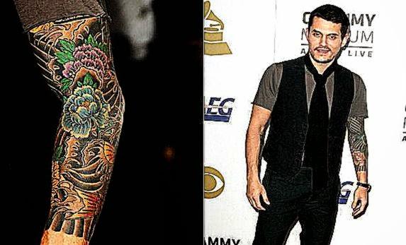 Arm Tattoo John Mayer