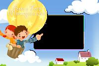 molduras-para-fotos-gratis-criancas-balao