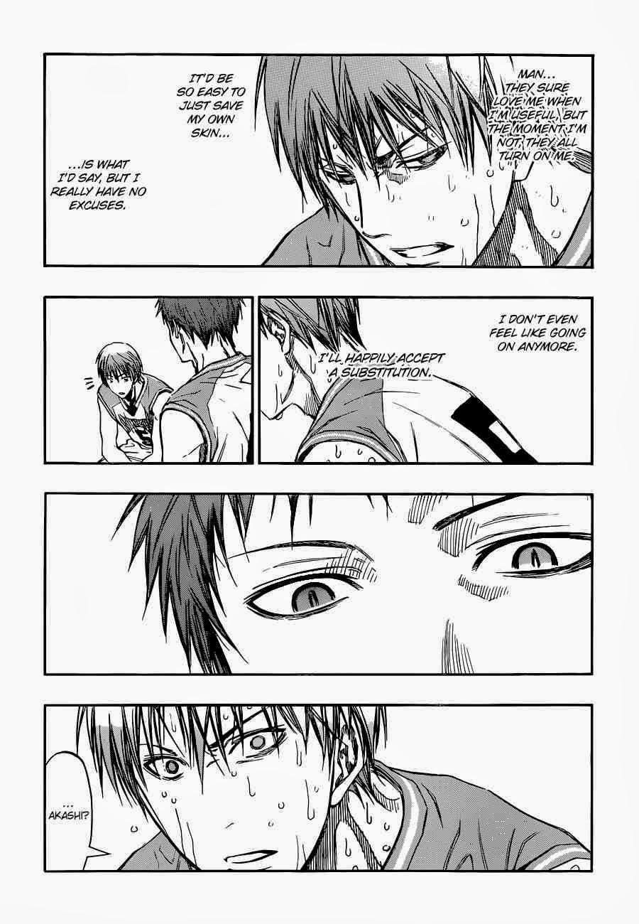 Kuroko no Basket Manga Chapter 251 - Image 08