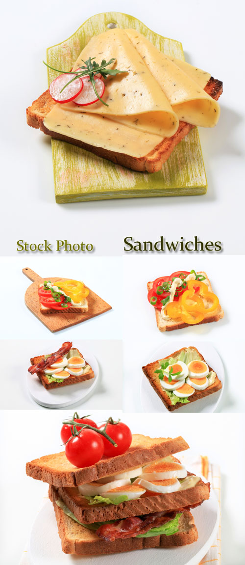Stock Photo: Sandwiches 4