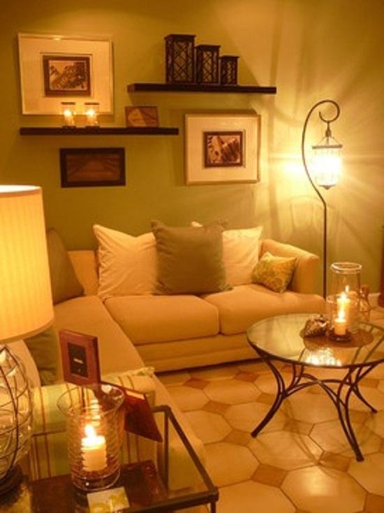 fotos de apartamentos pequenos decorados