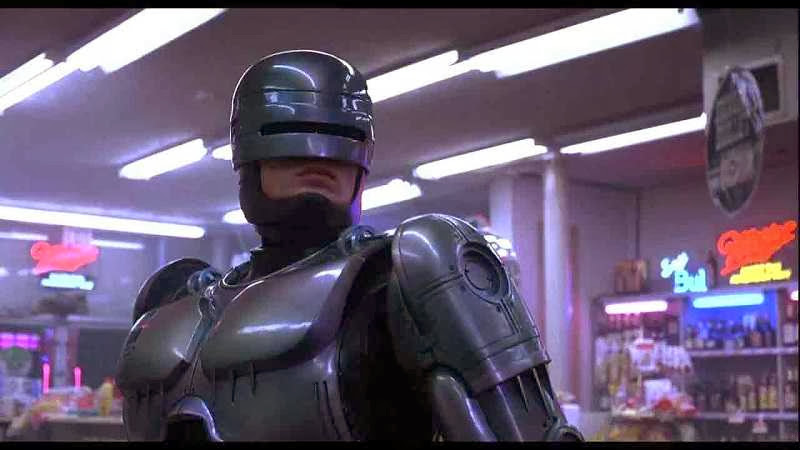 Screen Shot Of Hollywood Movie RoboCop (1987) In Hindi English Full Movie Free Download And Watch Online at alldownloads4u.com