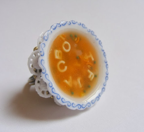 Alphabet Soup Ring by Neat Eats