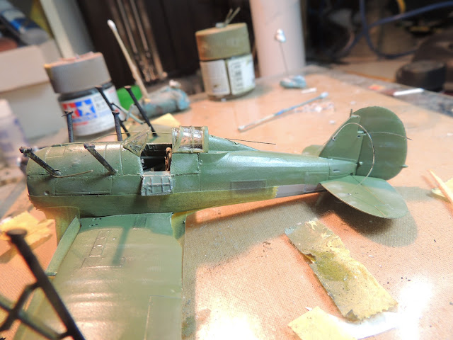 [Airfix] Gloster Gladiator DSCN1866