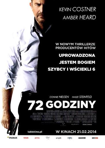 Przód ulotki filmu '72 Godziny'
