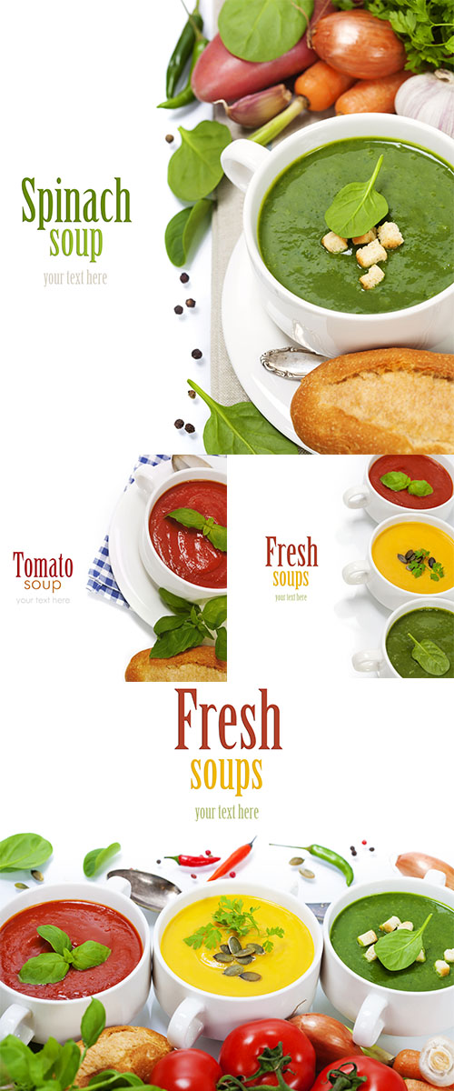 Stock Photo: Traffic light soups 5