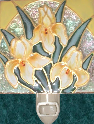 Yellow Gold Iris Flower