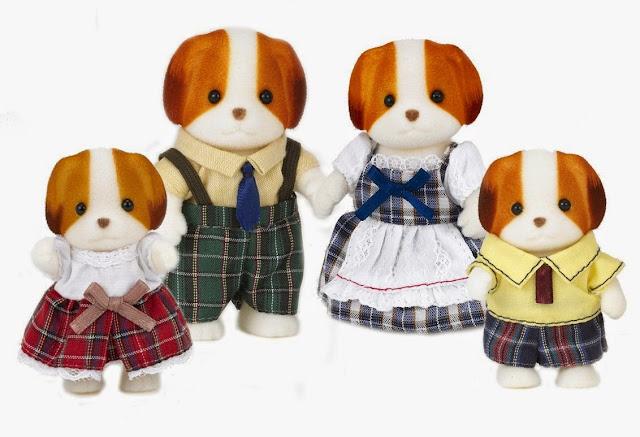 Gia đình nhà chó Chiffon Dog gồm 4 thành viên cực kì đáng yêu
