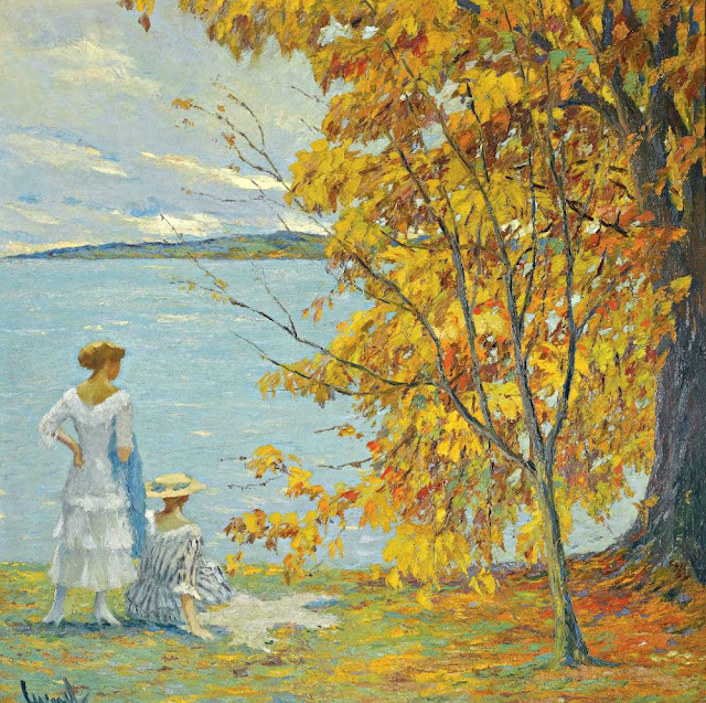 Edward Cucuel - Autumn Walk