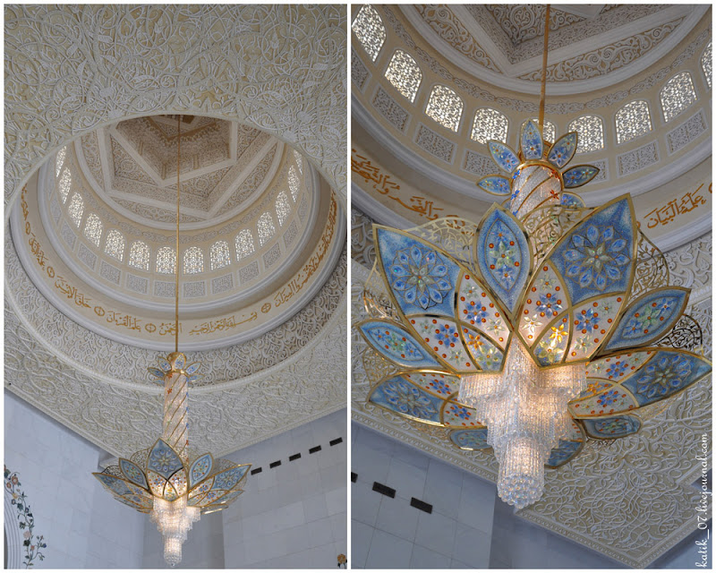 Мечеть Шейха Заеда (Белая мечеть), Абу-Даби.