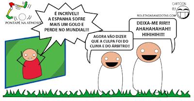 A Reacção dos Portugueses Às Derrotas de Espanha no Mundial Brasil 2014