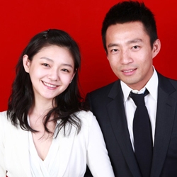 Barbie Hsu and Wang Xiao Fei
