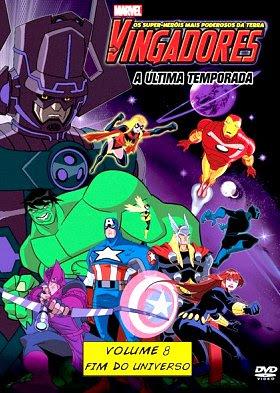 Filme Poster Os Vingadores – Os Super Heróis Mais Poderosos da Terra Vol.8  DVDRip XviD & RMVB Dublado