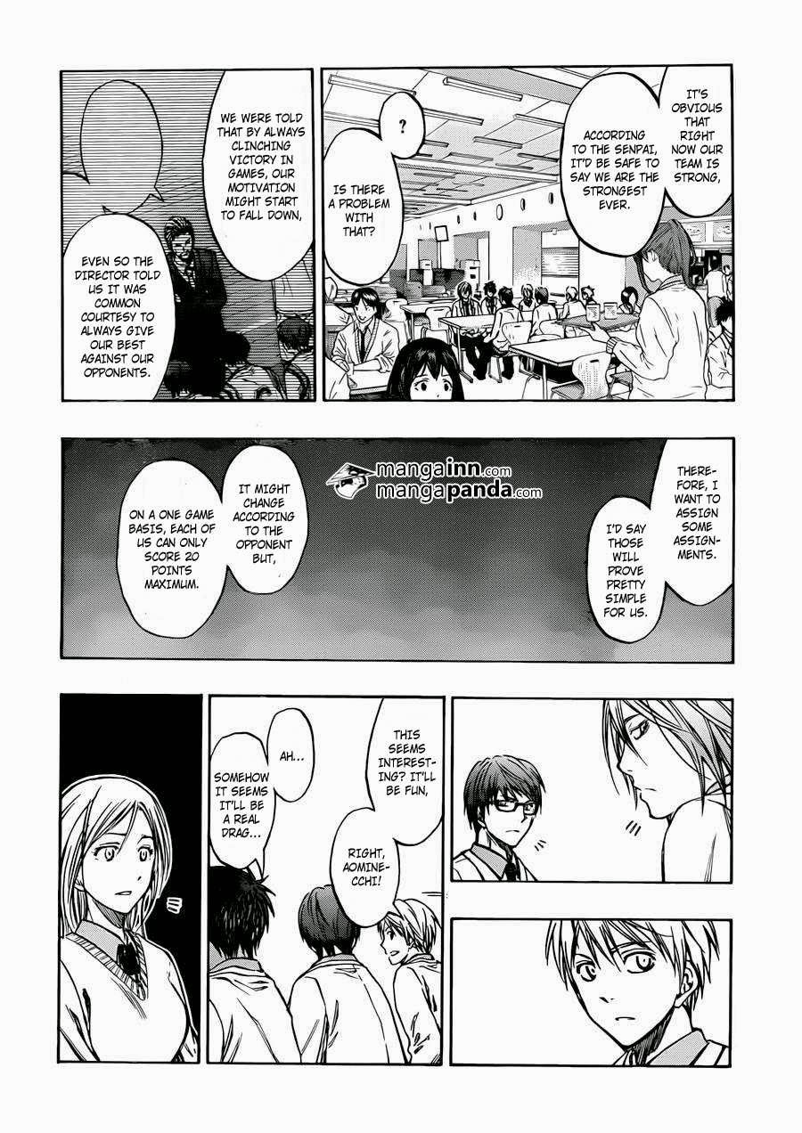 Kuroko no Basket Manga Chapter 214 - Image 04