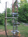 Microwave tower rotator