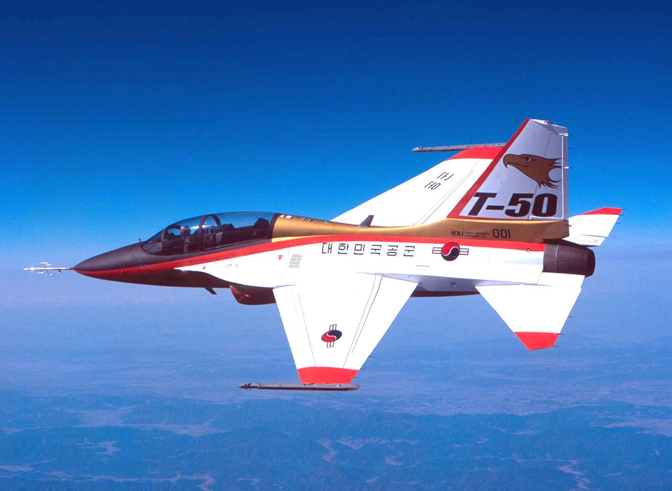 KAI T-50 Golden Eagle T-50%2520Golden%2520Eagle