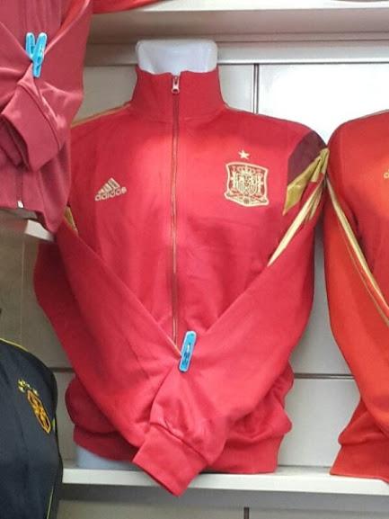 Jual Jaket Spanyol Merah Terbaru World Cup 2014