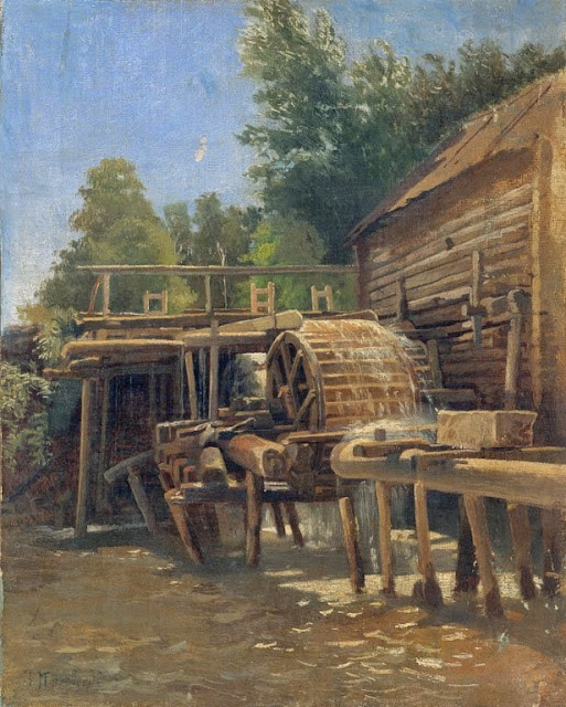 Nikolay Makovsky - A Water-Mill