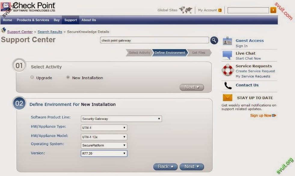 CheckPoint - Cài đặt Checkpoint Gateway trên Vmware