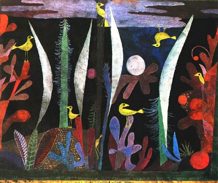 Paul Klee - Landscape with Yellow Birds, 1923