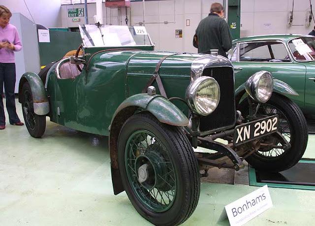 Aston Martin Prototype A3, 1921 г.