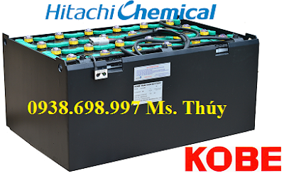 Bình điện xe nâng hàng Hitachi Kobe