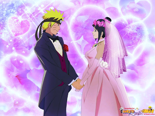 Naruto Hinata Wedding.Naruto Hinata Wedding Anime Wallpaper