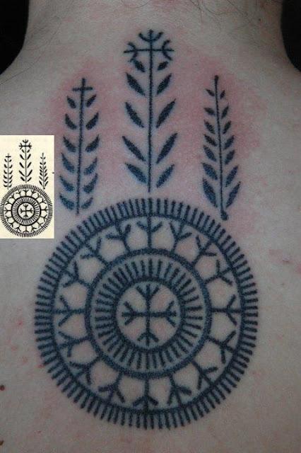 Tradiční chorvatské tetování
