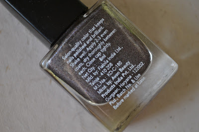 avon nailwear pro enamel nail polish onyx sparkle notd review swatch