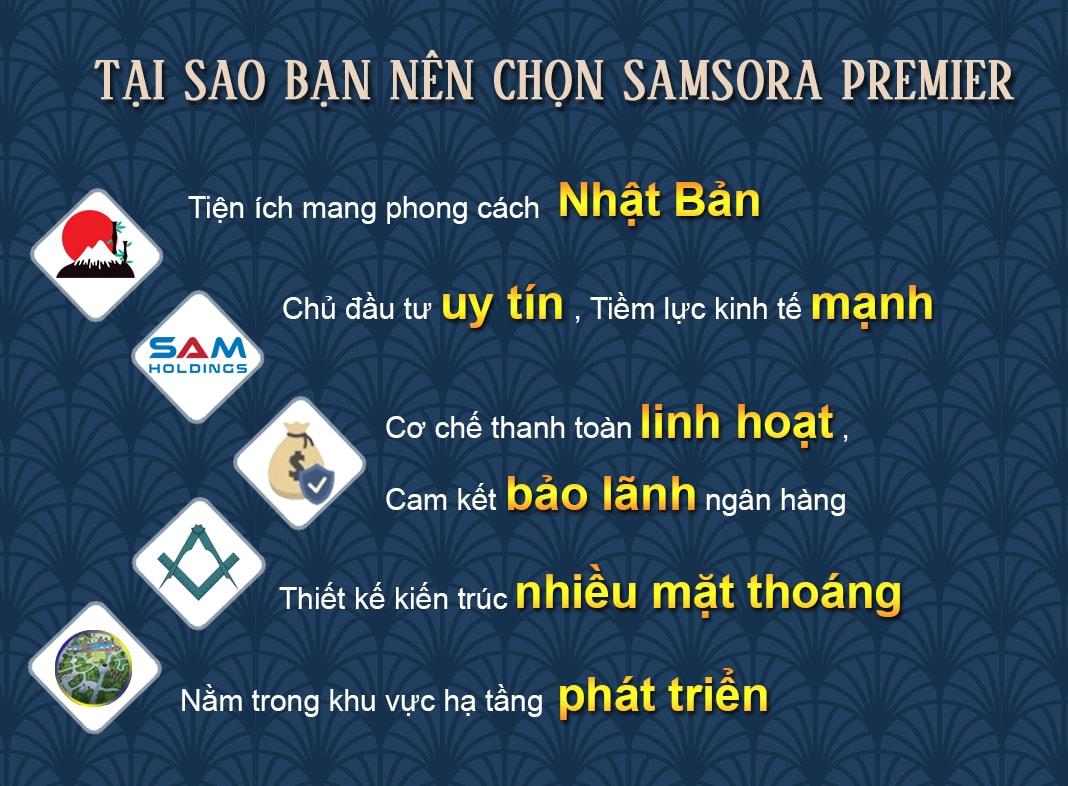 Tại sao nên chọn chung cư Samsora Premier 105 Chu Văn An