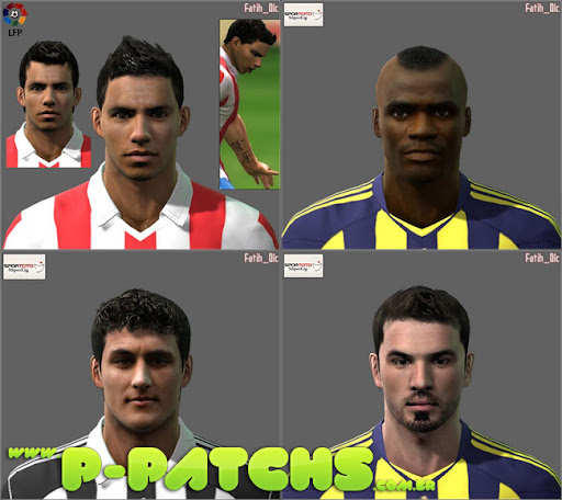 Facepack para PES 2011 PES 2011 download P-Patchs