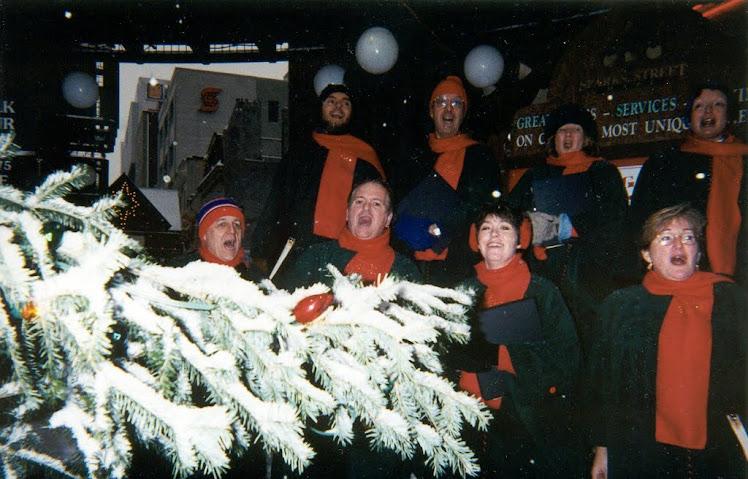 Carolling on Sparks Street, Ottawa