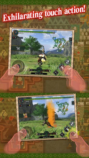MONSTER HUNTER FREEDOM UNITE v1.00.03 for iPhone/iPad