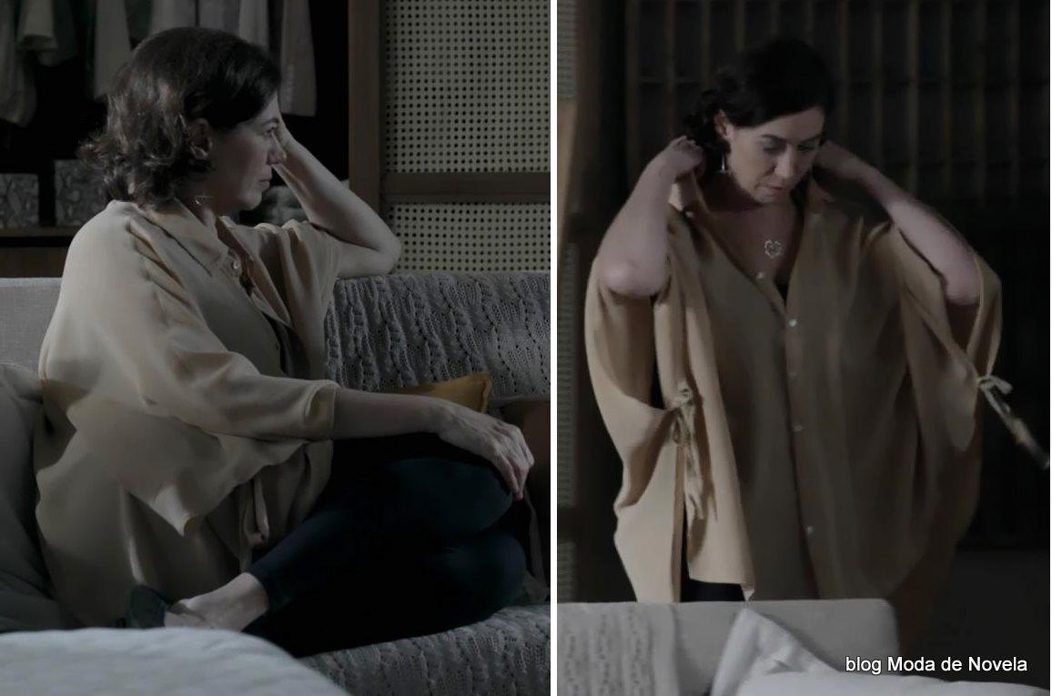 moda da novela Império - look da Maria Marta dia 29 de setembro