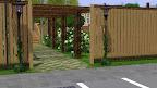 Comfort Community Garden - a CustomSims3.com contest entry