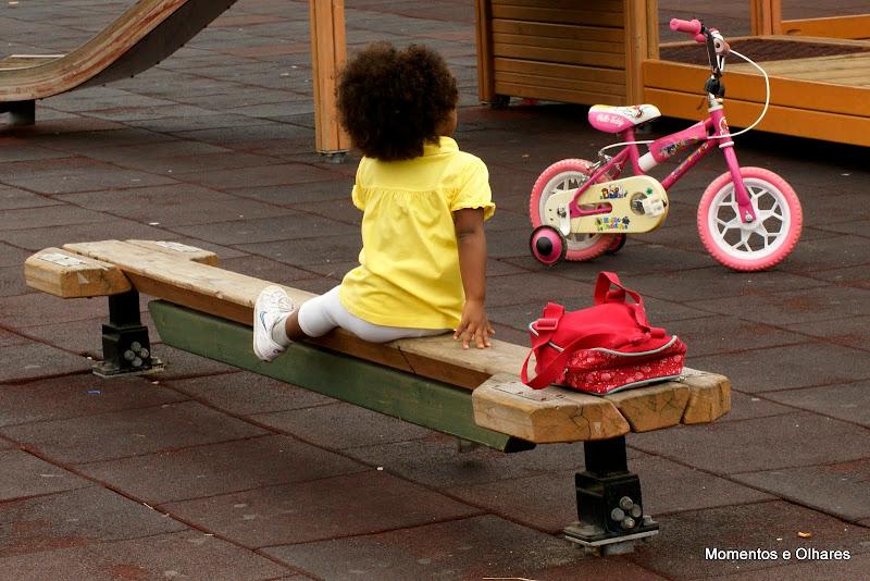 No Jardim Infantil
