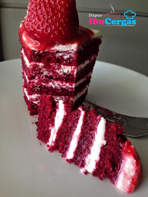 pewarna beetroot ubi bit Kronologi Eksperimen Mendapatkan Warna Merah Semulajadi Red Velvet Cake 2014 12 17 2B12