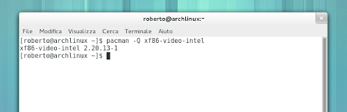 Driver Intel su Arch Linux