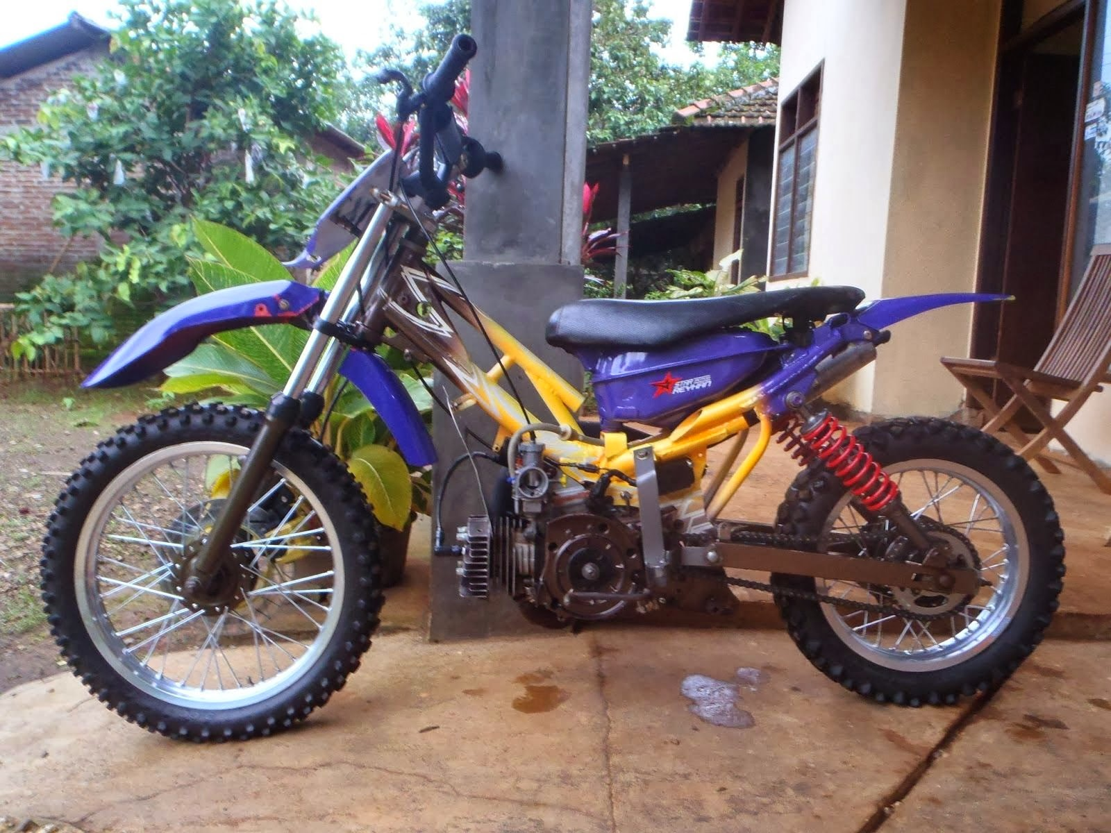 Yamaha Force 1 Modifikasi