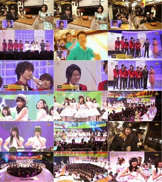 [TV-Variety] AKB48 Part – 震災から4年 明日へコンサート 150309