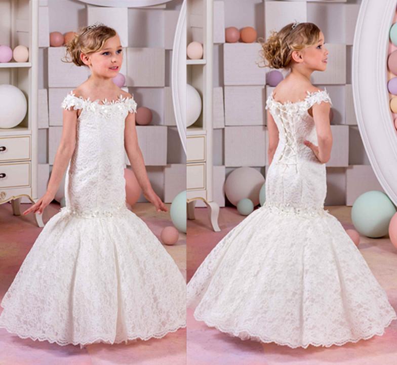 Tanie Sukienki Z Koronki Na Wesele Dla Dziecka Dziewczynki W Wieku 10, 11,12 Lat 6