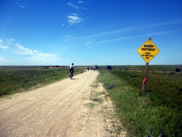 Minimum Maintenance Road at Dirty Kanza 200